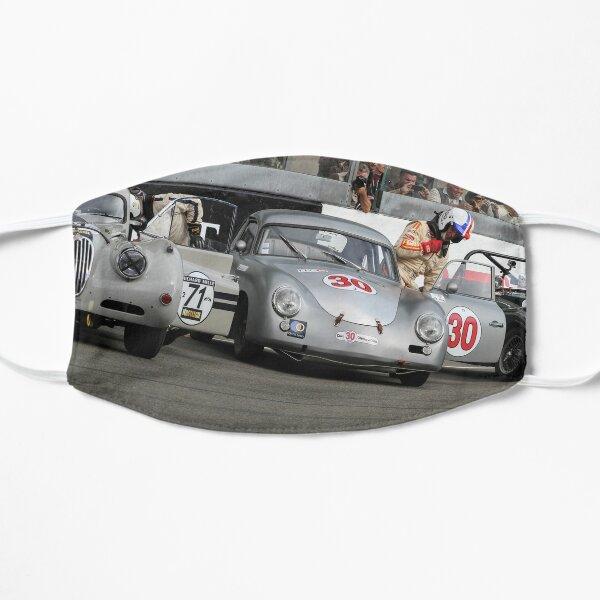 Porsche 356 Le Mans Classic Start grid Flat Mask