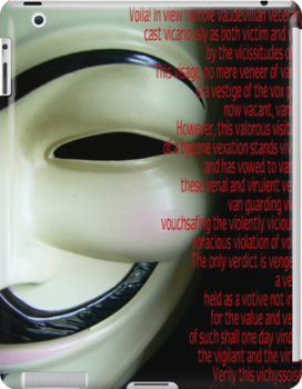 V FOR VENDETTA V's speech by LOKISsoldier
