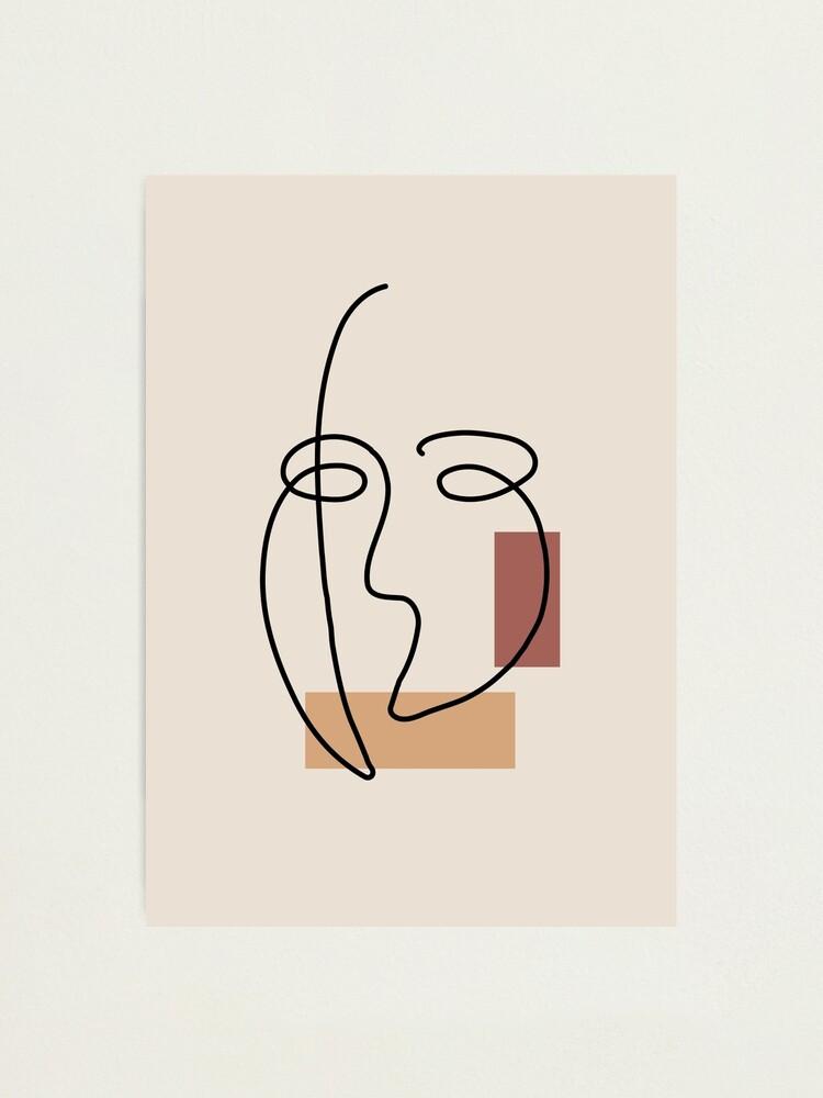 Impression photo ''Visage Masqué': autre vue