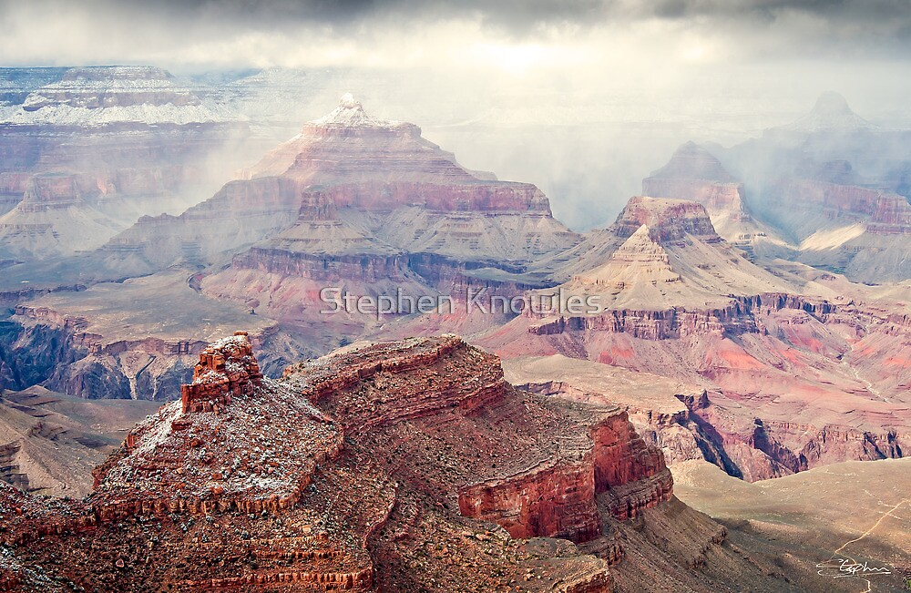Misty Grand Canyon by Stephen Knowles