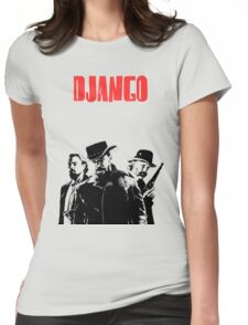 Django Unchained illustration  Womens Fitted T-Shirt