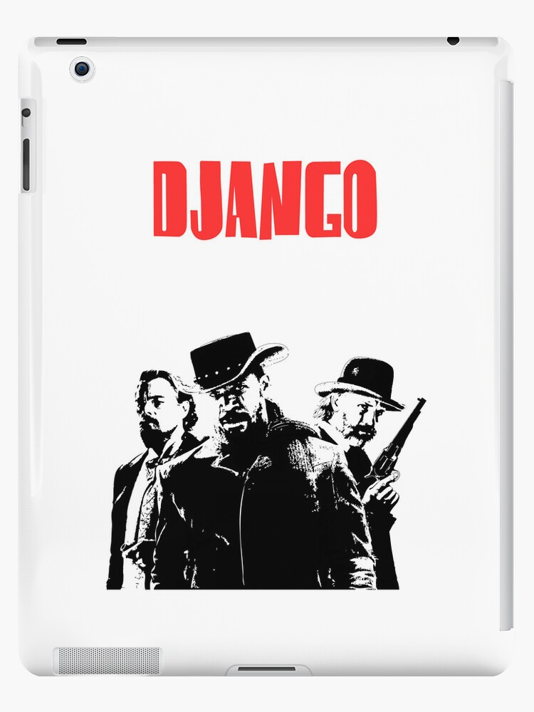 Django Unchained illustration Wild West Style Poster by Creative Spectator