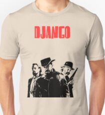 Django Unchained illustration Wild West Style Poster T-Shirt