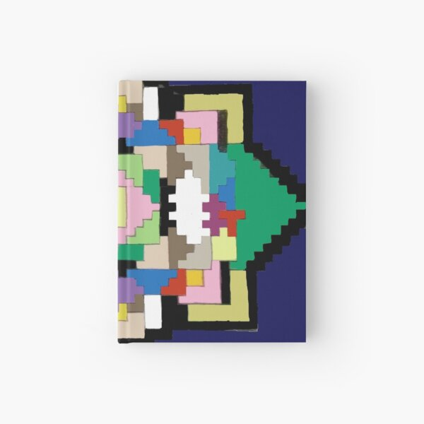 Colorful Puzzle Pieces #2 Hardcover Journal