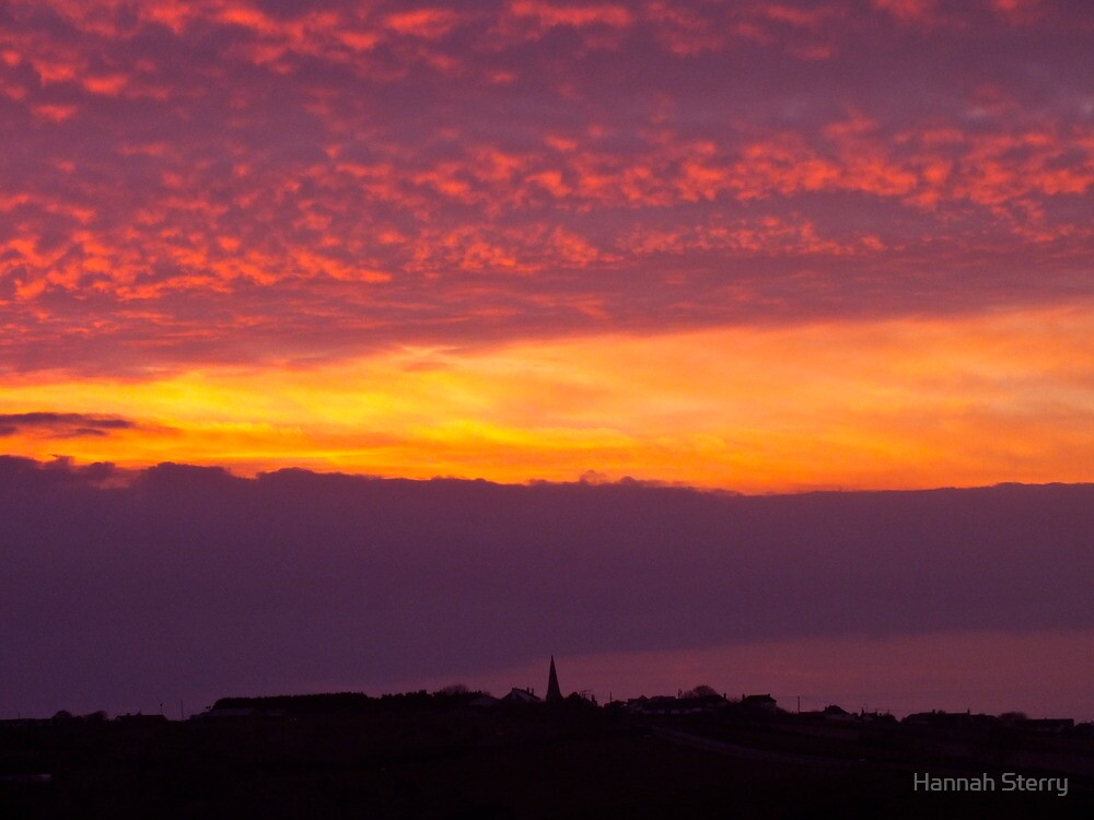 The Sky is on Fire by Hannah Sterry