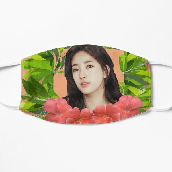 Suzy in jungle floral Mask