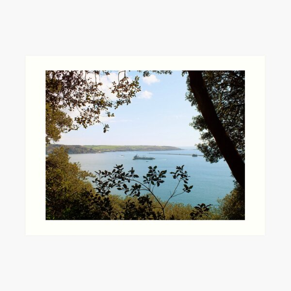 Plymouth Sound Art Print