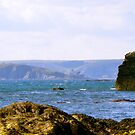 View to Burgh Island by Hannah Sterry