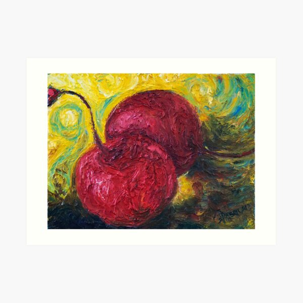 Maraschino Cherries Art Print