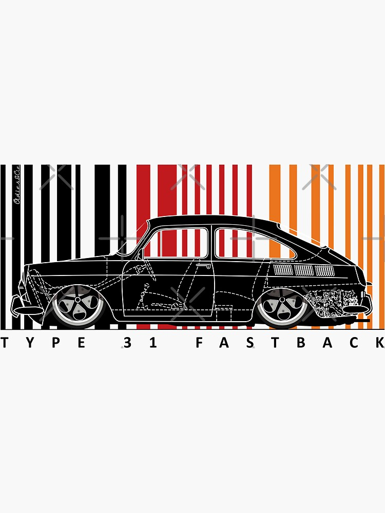 Aircooled 31 fastback by oldiescie