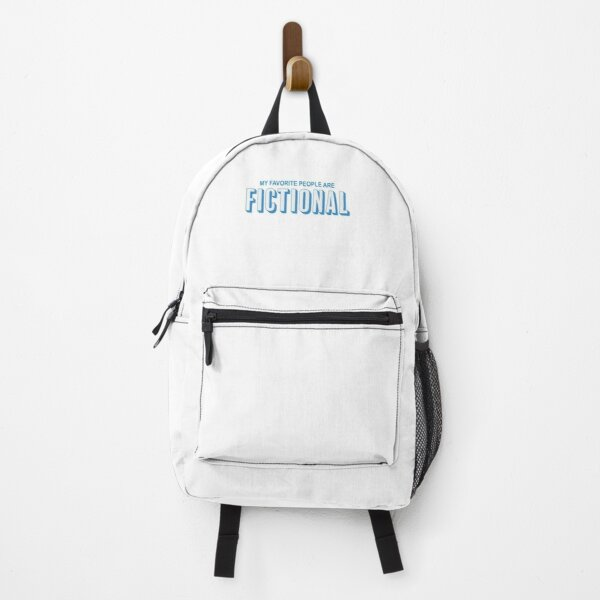My Favorite People Are Fictional Backpack