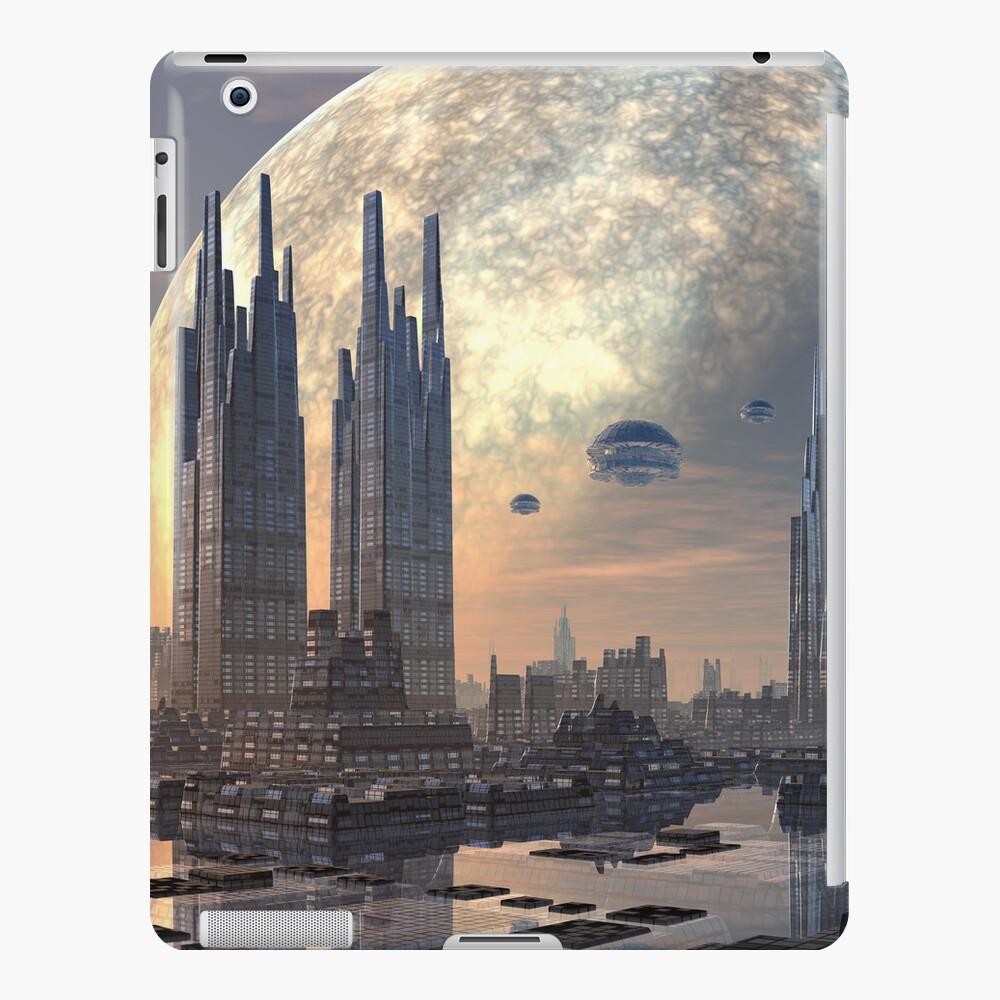 Future City Ipad Case Skin By Spinningangel Redbubble