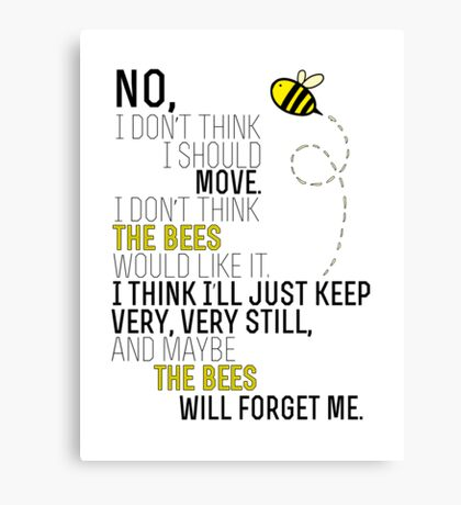 Lots and Lots of Bees! Canvas Print