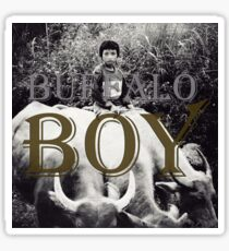 Buffalo Boy Sticker
