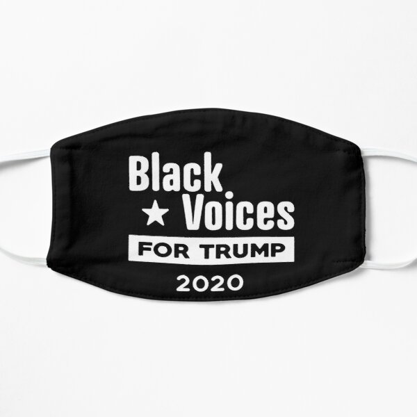 Black Voices For Trump 2020 Mask