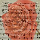 Heart of a Rose by Russell Fry