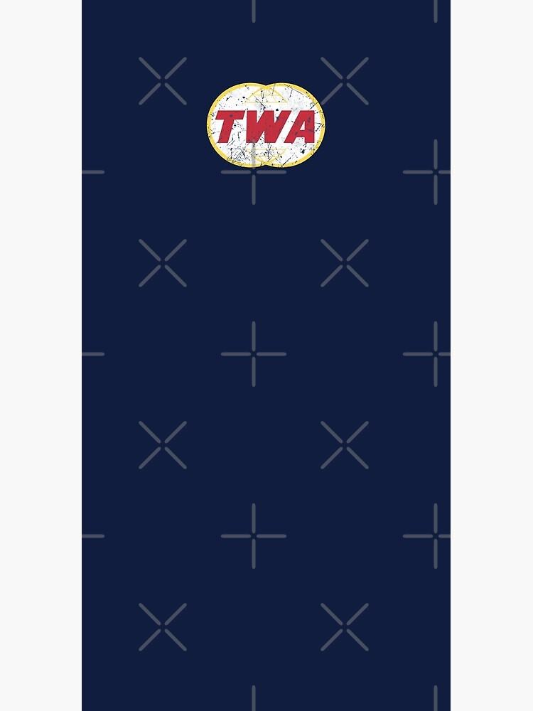 TWA Aviation Airline Vintage Logo  by quark