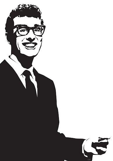 Buddy Holly by Tom Fulep