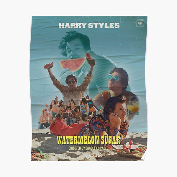 Watermelon Harry Sugar Poster