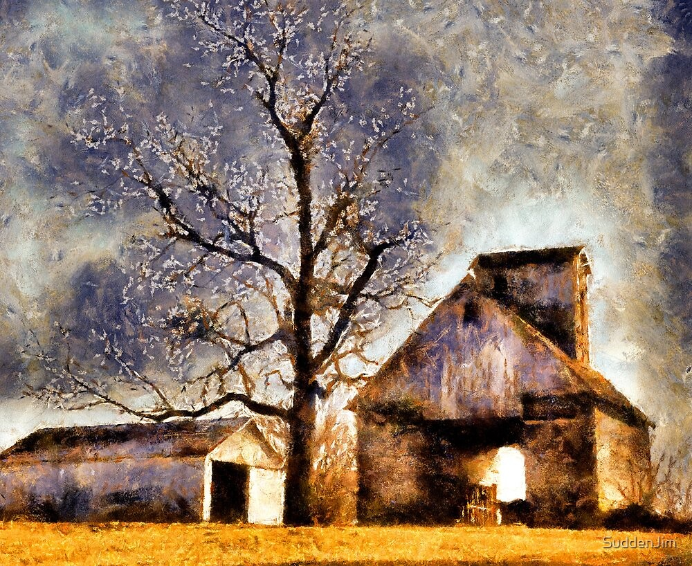 Barn And Tree by SuddenJim