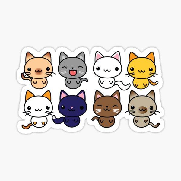 Cute Kitty Cats Sticker
