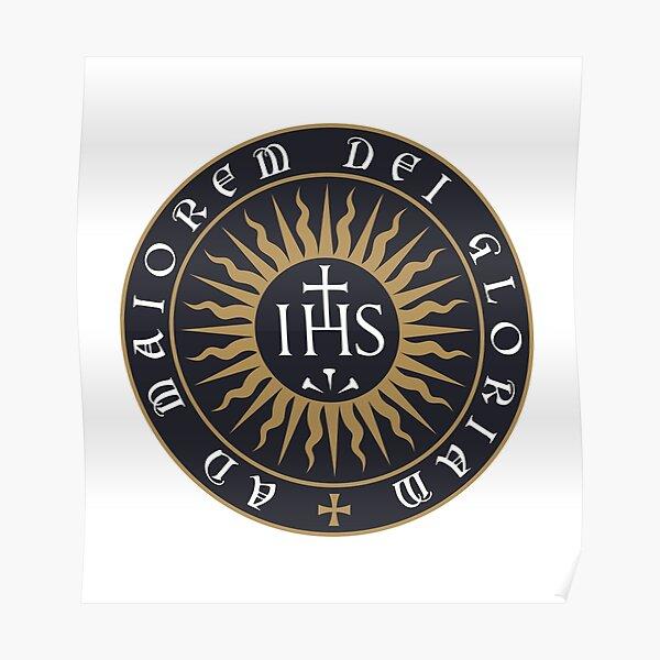 Ignatius of Loyola Society of Jesus Poster