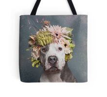 Flower Power, Pickles Tote Bag