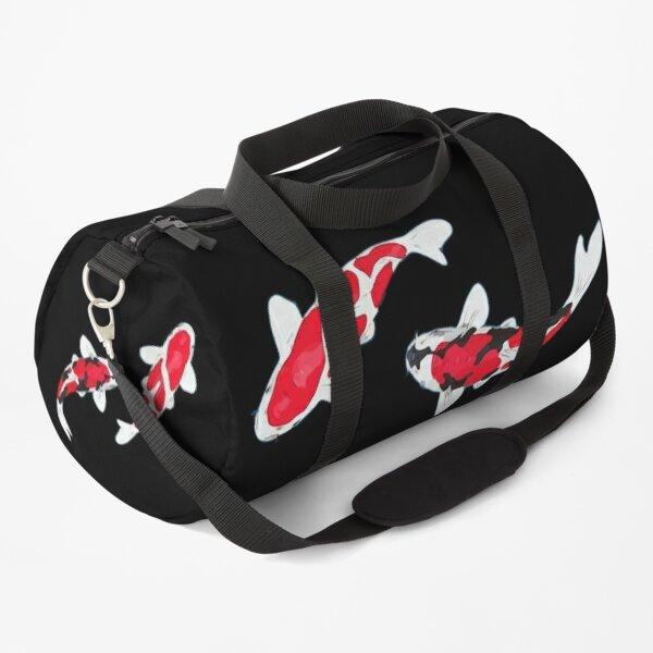 Koi Fish Kuhaku Showa Sanke Duffle Bag