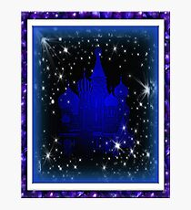 Castle---One the edge of Fantasy Photographic Print