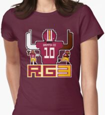 RG3 Tecmo style! Women's Fitted T-Shirt