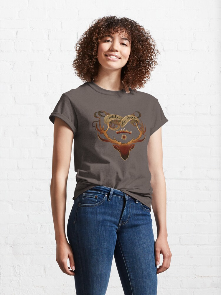 Alternate view of Rattle the stars - Throne of Glass Classic T-Shirt