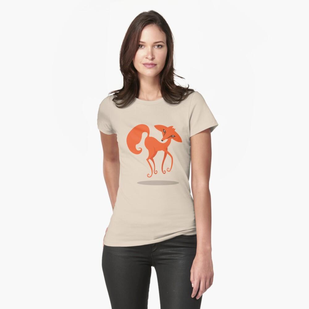 Foxprit Womens T-Shirt Front
