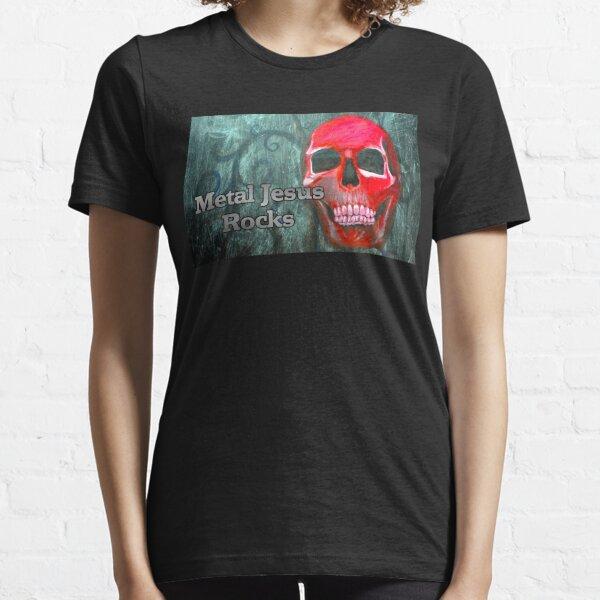 Metal Jesus Rocks Essential T-Shirt