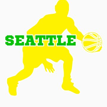 Seattle Basketball by keyweegirlie