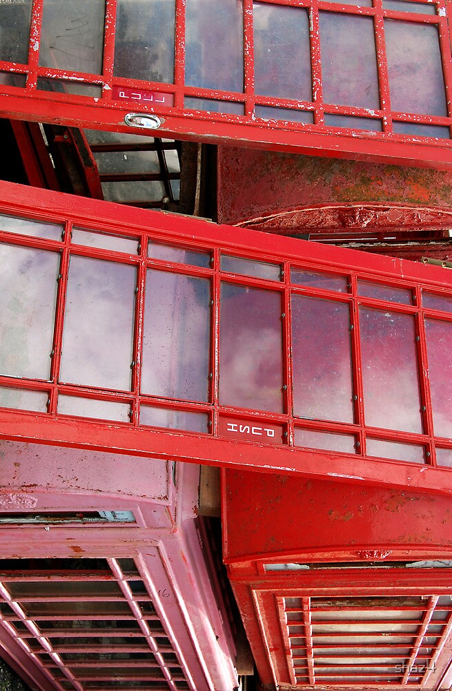 Red phone boxes by shaz4
