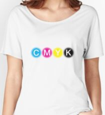 CMYK 1 Women's Relaxed Fit T-Shirt