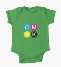 CMYK 2 One Piece - Short Sleeve