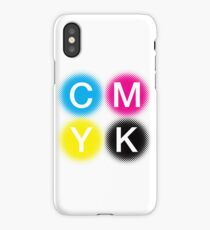 CMYK 2 iPhone Case/Skin