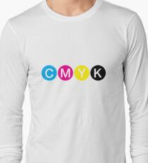 CMYK 3 Long Sleeve T-Shirt