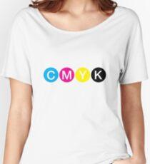CMYK 3 Women's Relaxed Fit T-Shirt