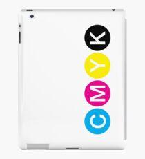 CMYK 3 iPad Case/Skin