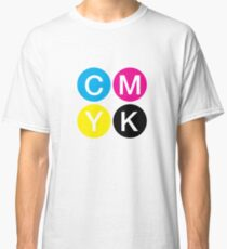 CMYK 4 Classic T-Shirt