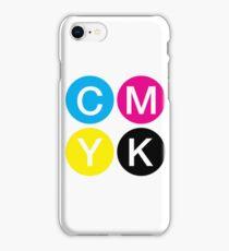 CMYK 4 iPhone Case/Skin