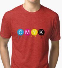 CMYK 5 Tri-blend T-Shirt