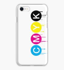 CMYK 5 iPhone Case/Skin