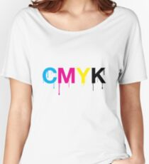 CMYK 6 Women's Relaxed Fit T-Shirt