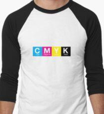 CMYK 9 Men's Baseball ¾ T-Shirt