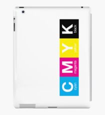 CMYK 9 iPad Case/Skin