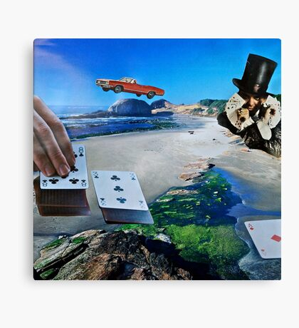 Gambling With God Canvas Print