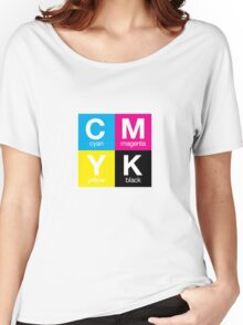 CMYK 11 Women's Relaxed Fit T-Shirt